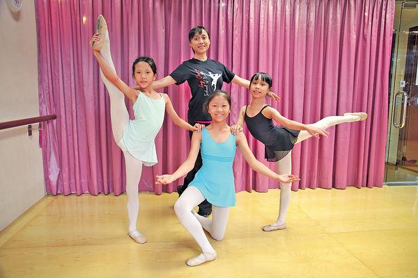 芭蕾舞家鍾詠賢︰女兒學懂照顧我