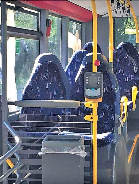 挪威極右網民 巴士座位當罩袍女捱轟