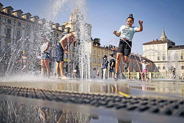 熱浪襲南歐 意體感溫度55℃