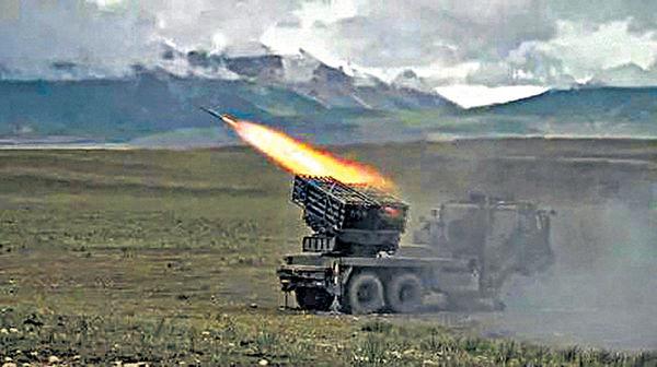 邊境對峙升級 中印傳運導彈