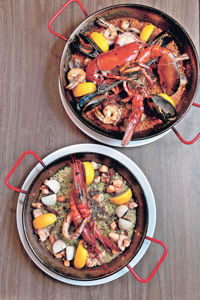 西日意共冶一爐 必食$208海鮮飯