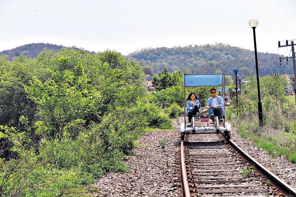 首爾周邊遊 鐵路踩單車