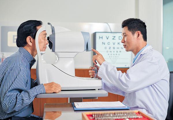45%長者首次驗眼 驚現白內障