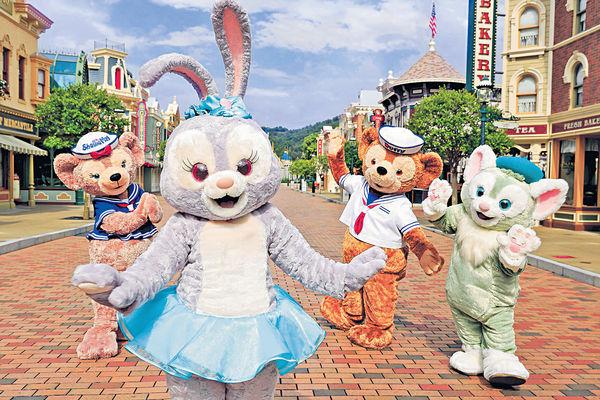 StellaLou進駐港迪士尼 Duffy精品銷量 7年增10倍