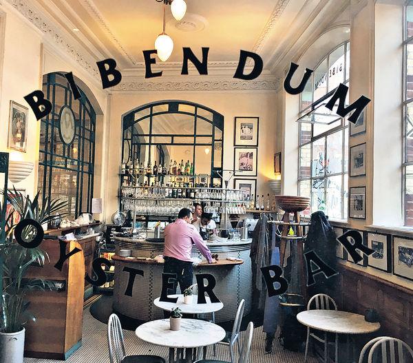 英國Bibendum餐廳二星名廚掛帥