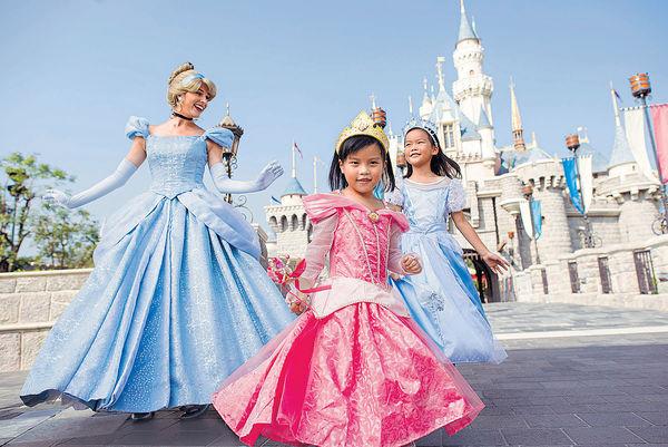 迪士尼周六推拍攝優惠 邀小公主參與巡遊
