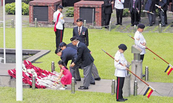 重光72周年 紀念儀式悼犧牲軍人
