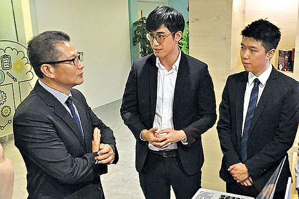陳茂波︰香港可成區內創科樞紐