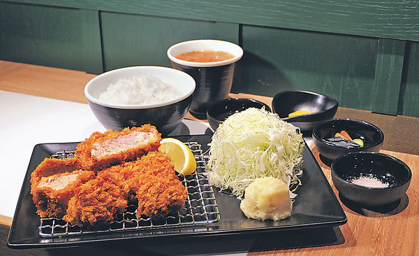 餐廳+酒吧 金黃軟嫩吉列豚