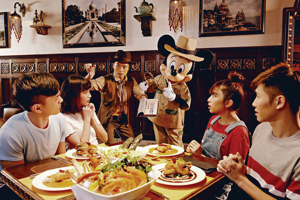 迪士尼萬聖節派對 《小魚仙》海女巫首出場