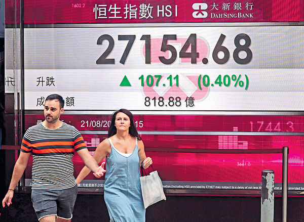 聯通內房撑市 市場偏觀望 港股27000拉鋸