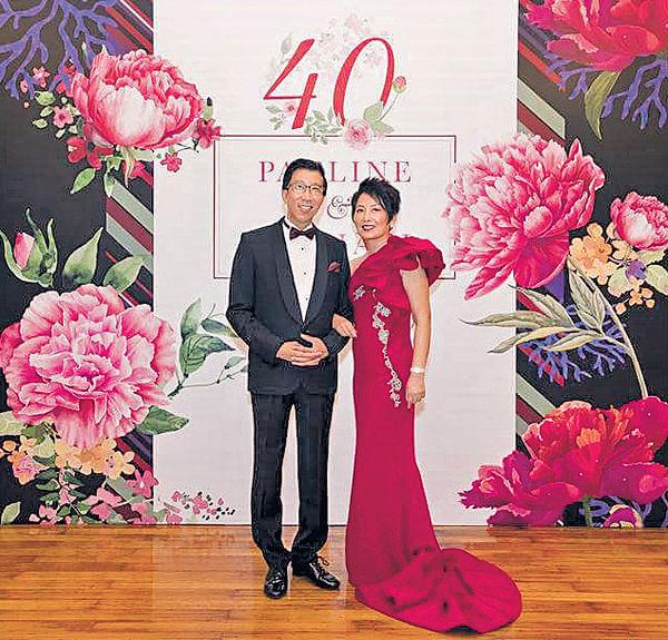陳裕光伉儷結婚40年 以絲襪妙論婚姻