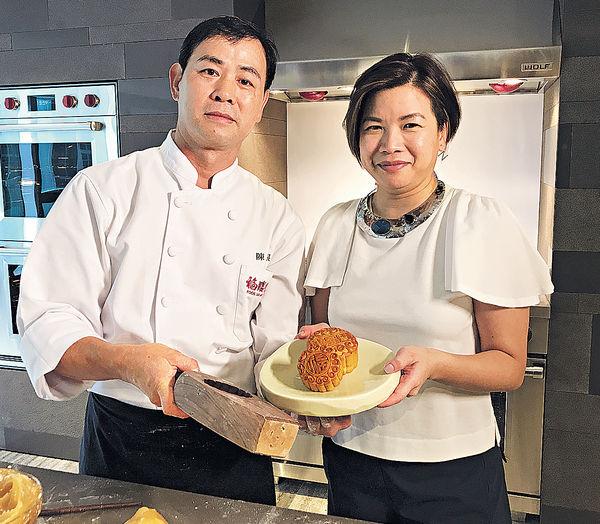 福臨門大廚教整月餅 餅皮要落普洱茶