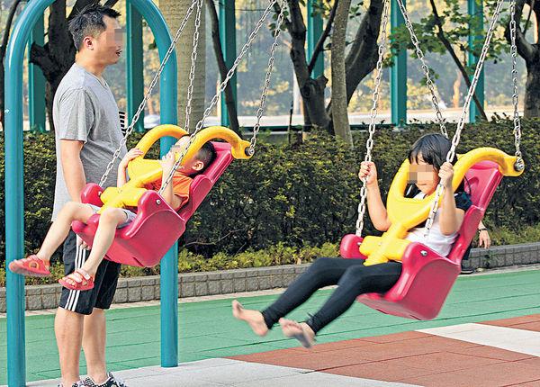 本港兒童少去遊樂場 每次玩唔夠1粒鐘