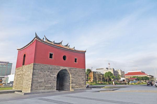 台北新地標 清代城門重生