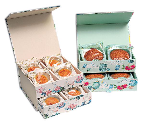 大家樂搵前主播 設計月餅首飾盒