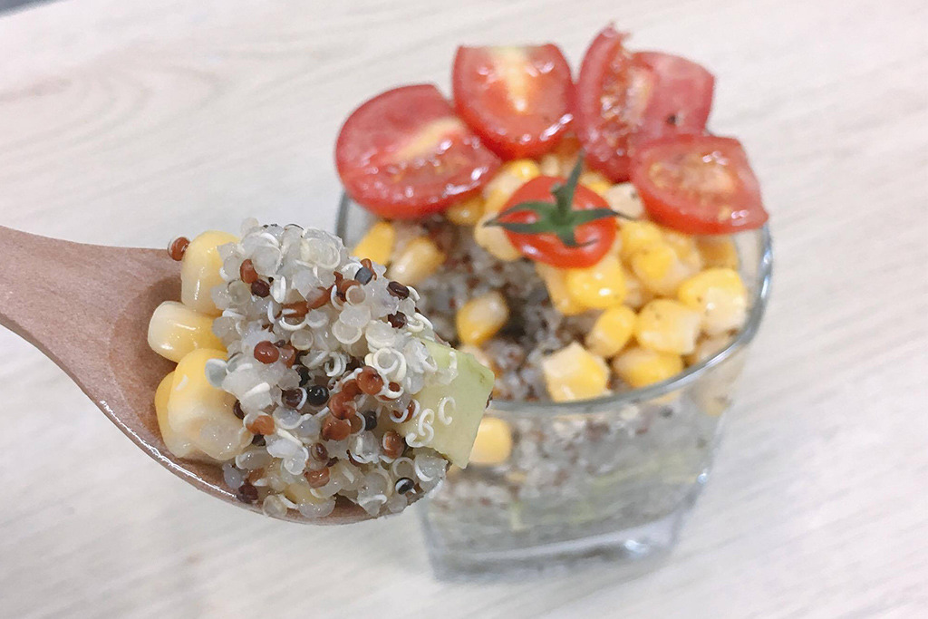 新一代有營減肥餐! 簡易藜麥牛油果沙律