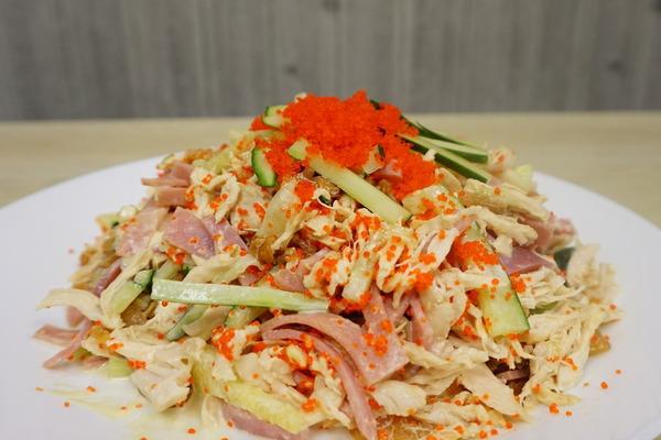 【涼拌食譜】零難度開胃冷盤!  Wasabi海蜇手撕雞