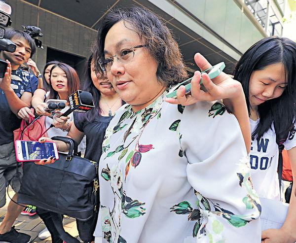 陳章萍向校董會索償 延至刑事程序完畢