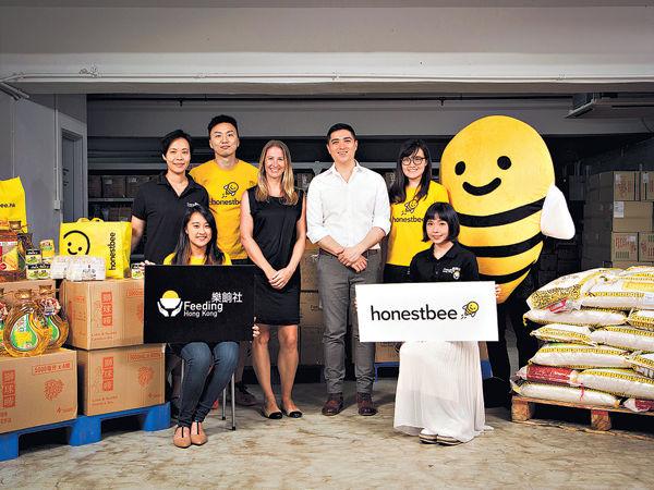 honestbee × 樂餉社 代購買餸兼行善
