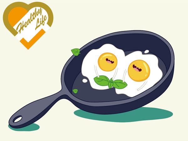 煎炒太多油 雞蛋熱量急升