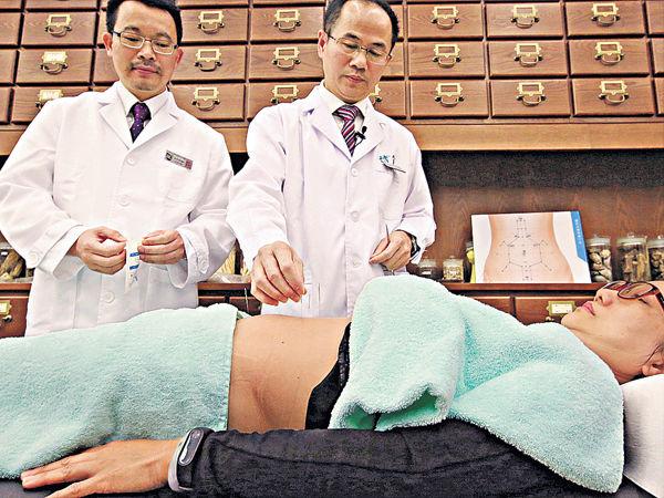 腹部針灸 「低頭族」減頸痛