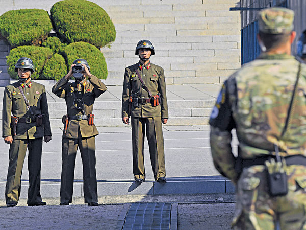 不容半島爆衝突 文在寅︰南韓不擁核武