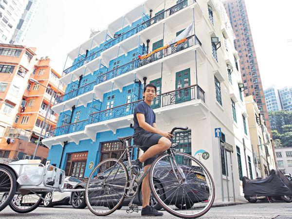 新租客學以致用 藍屋化身環保社區