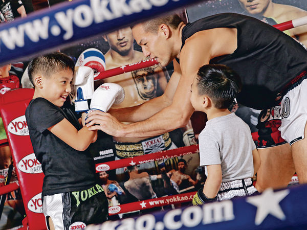 金腰帶教泰拳 訓練兒童紀律