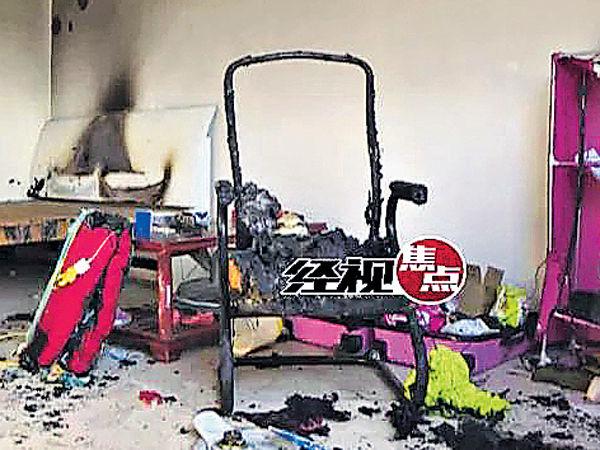 枕邊手機起火 2童慘被燒死