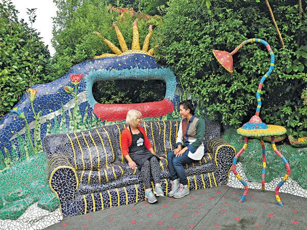 小城陶波 遊新西蘭版高迪花園