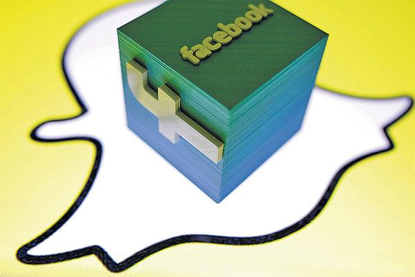 Snapchat重新設計 仿fb吸客自救