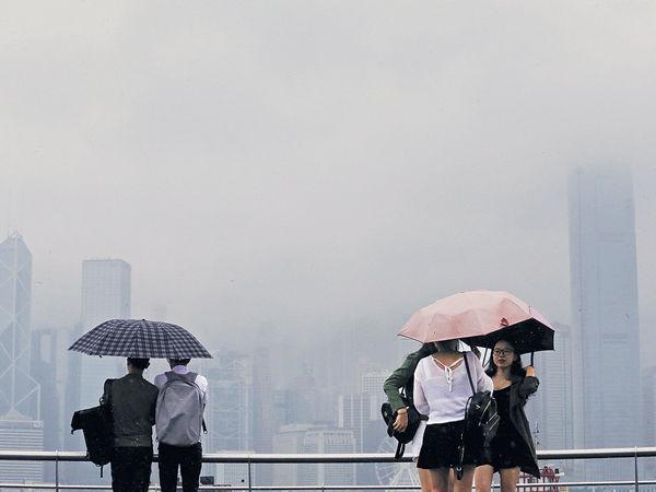 季候風殺到 下周日最低17℃