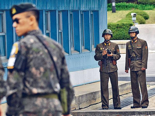 北韓兵投誠遭同胞槍傷