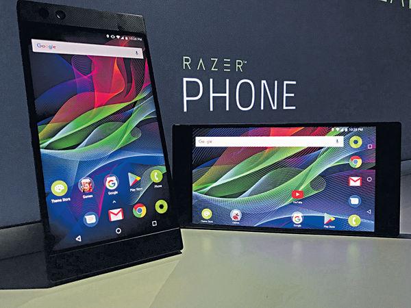 雷蛇周五歐美推售Razer Phone