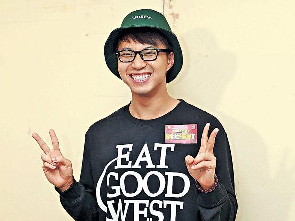 吳業坤幫自己設計綠帽
