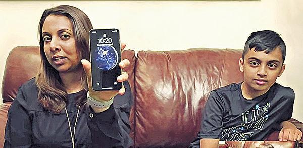 10歲子騙過Face ID 破解母親iPhone X
