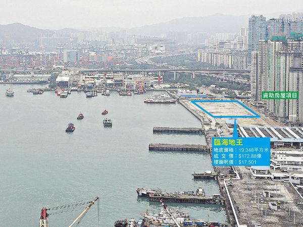 長沙灣誕$173億地王 同區樓即反價$100萬