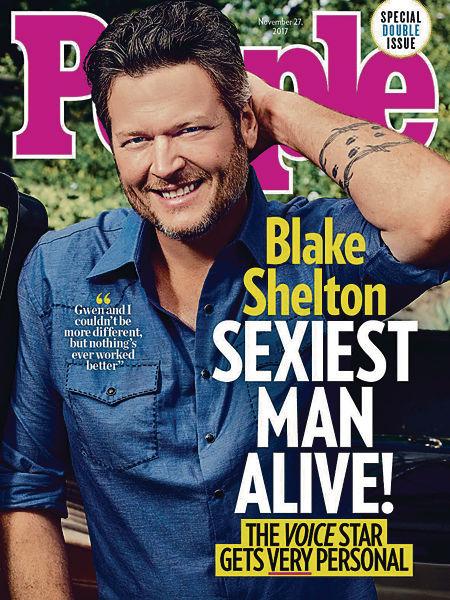 Blake當選最性感男士