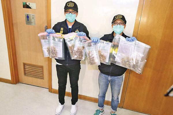體內藏逾$230萬可卡因 秘魯女被捕