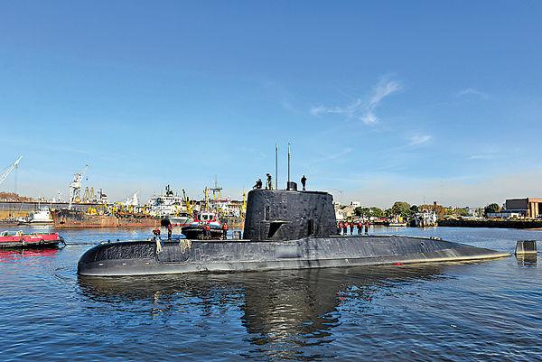 失蹤阿根廷潛艇 7次發緊急訊號