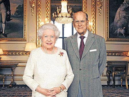 英女皇今慶結婚70載
