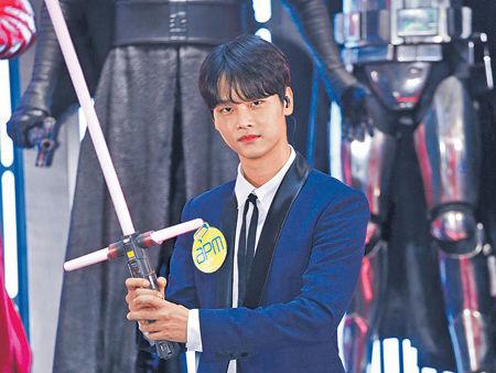 VIXX隊長N大玩激光劍