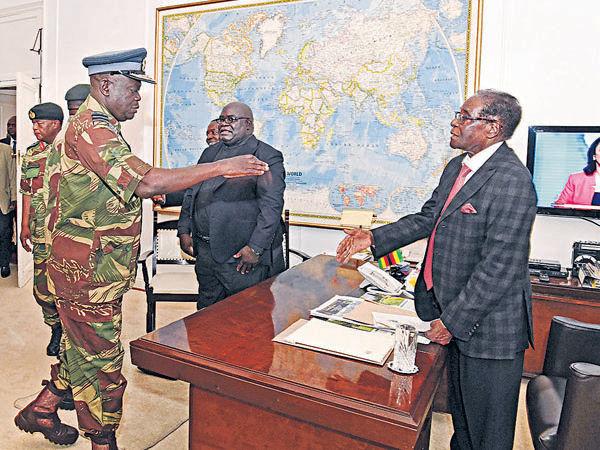 津巴布韋總統 同意有條件辭職