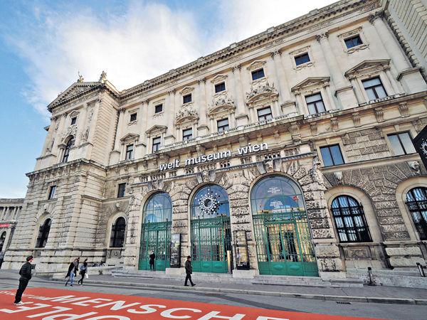 維也納 人類學博物館獵奇