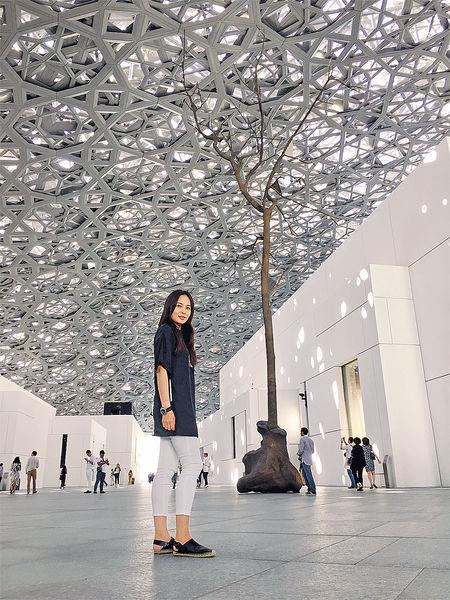 沙漠中的世界文化新星Louvre Abu Dhabi