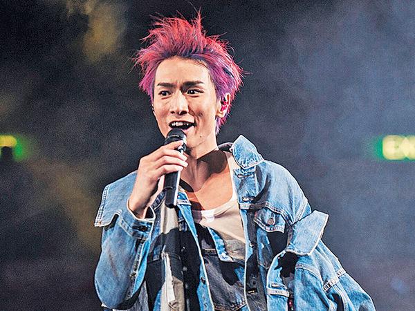 陳柏宇留長髮被人笑