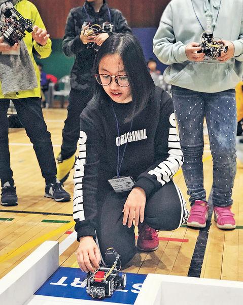 國際機械人賽 港少女奪季