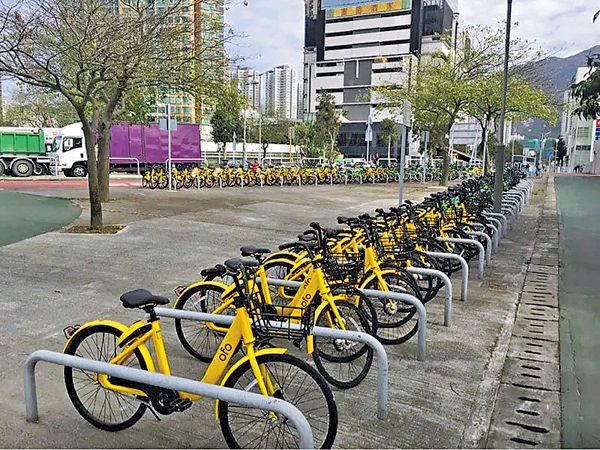 時租$6內地共享單車 登陸香港